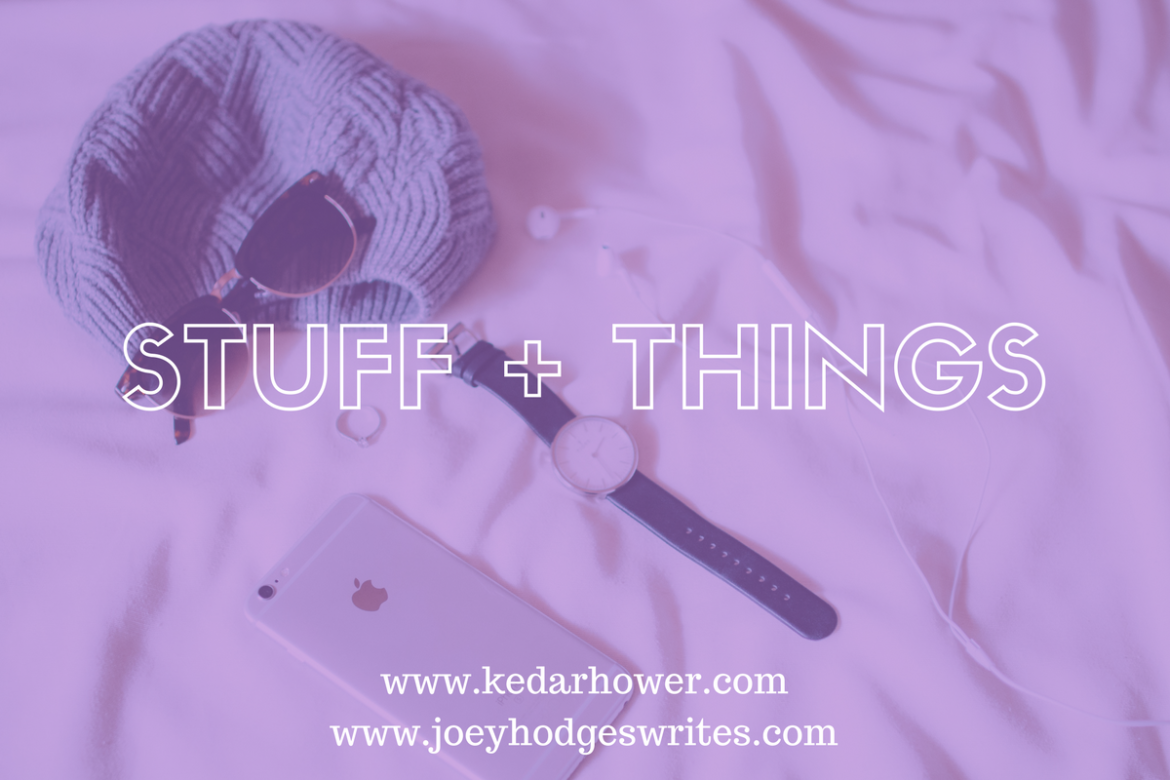 Stuff & Things: I'm doing it…